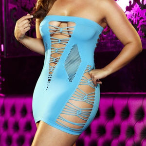 Lapdance Lingeries Backroom Mini Dress PLUS SIZE